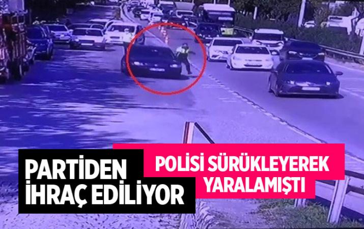 İzmit'te polisi sürükleyerek yaralayan CHP'li eski yönetici çıktı firari isim için düğmeye basıldı