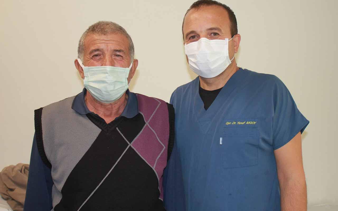 Niğde'de 61 yaşındaki adam doktora gitmeye üşendi iğneleri kızına yaptırdı! Ölümden döndü