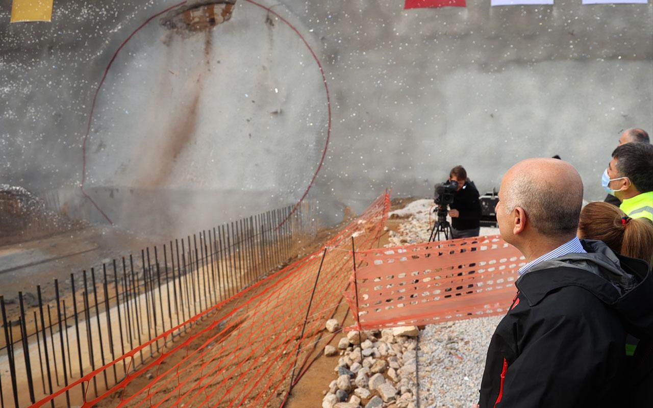Dev projede ışık göründü Bakan Adil Karaismailoğlu duyurdu: 14 saatten 3,5 saate inecek