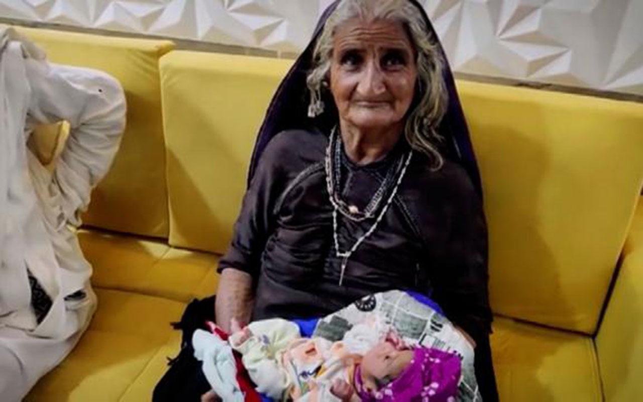 70 yaşındaki kadın tüp bebek yöntemiyle ilk kez anne oldu!