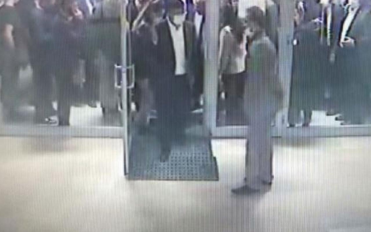 Ahmet Davutoğlu'nun bindiği asansör yere çakıldı! Kaza sonrası görüntüler çıktı