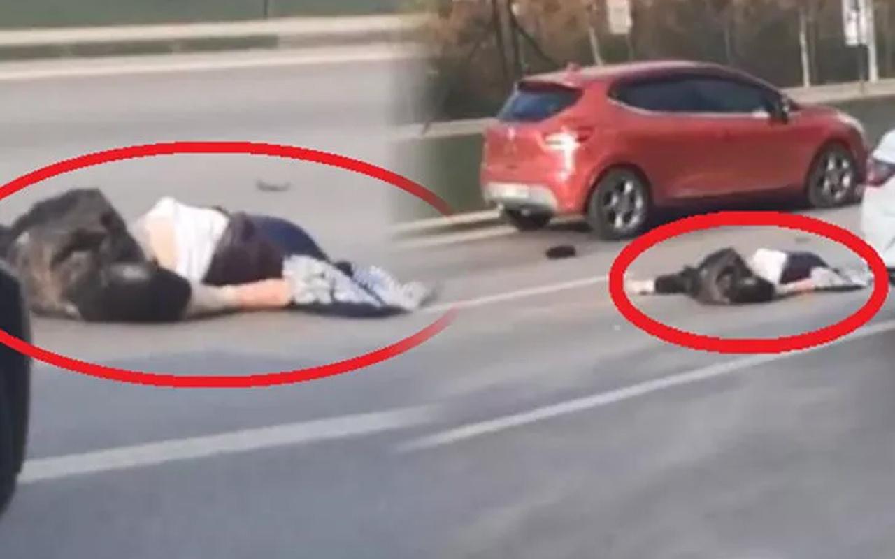 Bursa'da yolun karşısına geçmeye çalışırken öldü! Kimse aldırış etmedi