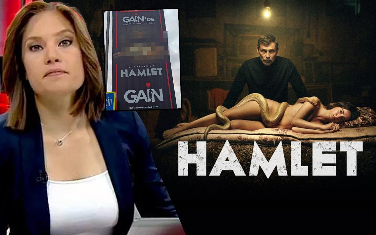 Çıplak afiş kriz çıkardı! Nevşin Mengü Gain Hamlet'in sansürüne tepki gösterdi Twitter yıkıldı