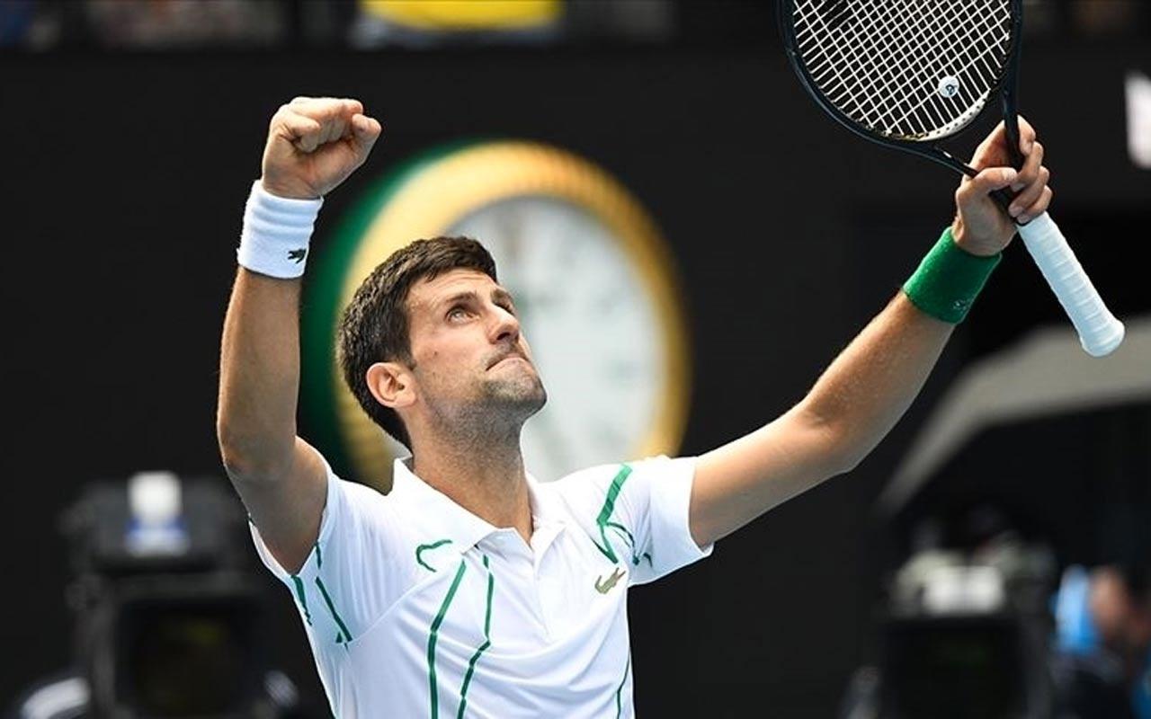 Tenisin 1 numarası Djokovic'in aşı kararı kariyer rekorunu kaçırmasına neden olabilir