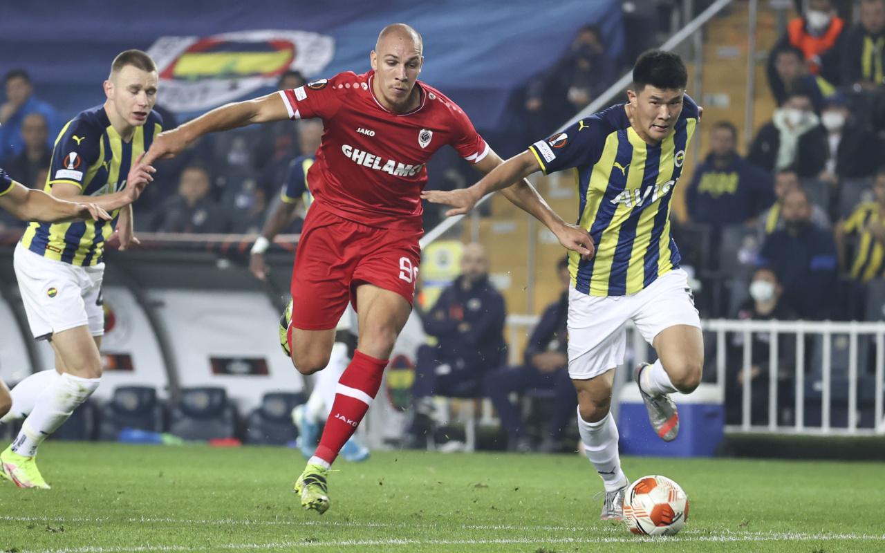 Fenerbahçe Royal Antwerp maçı golleri ve geniş özeti