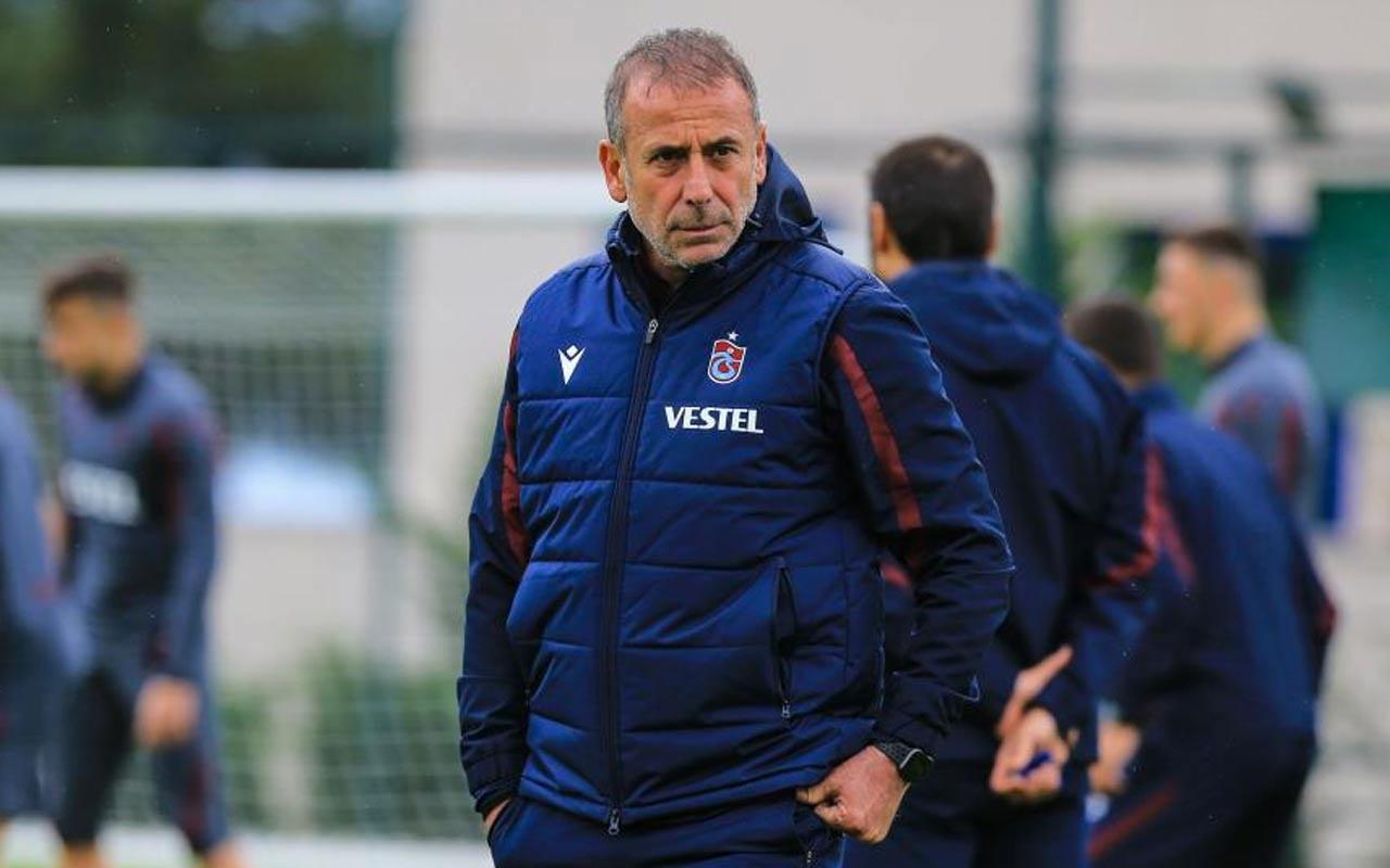 Trabzonspor'da sakatlar can sıktı Abdullah Avcı revizyona gidiyor