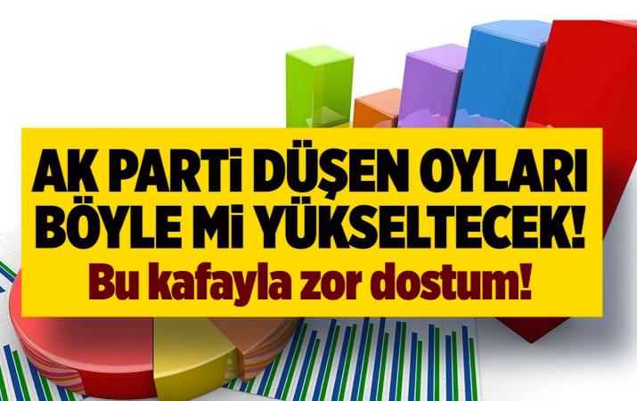 AK Parti eriyor... Onlar da oyları böyle arttırmak istiyor