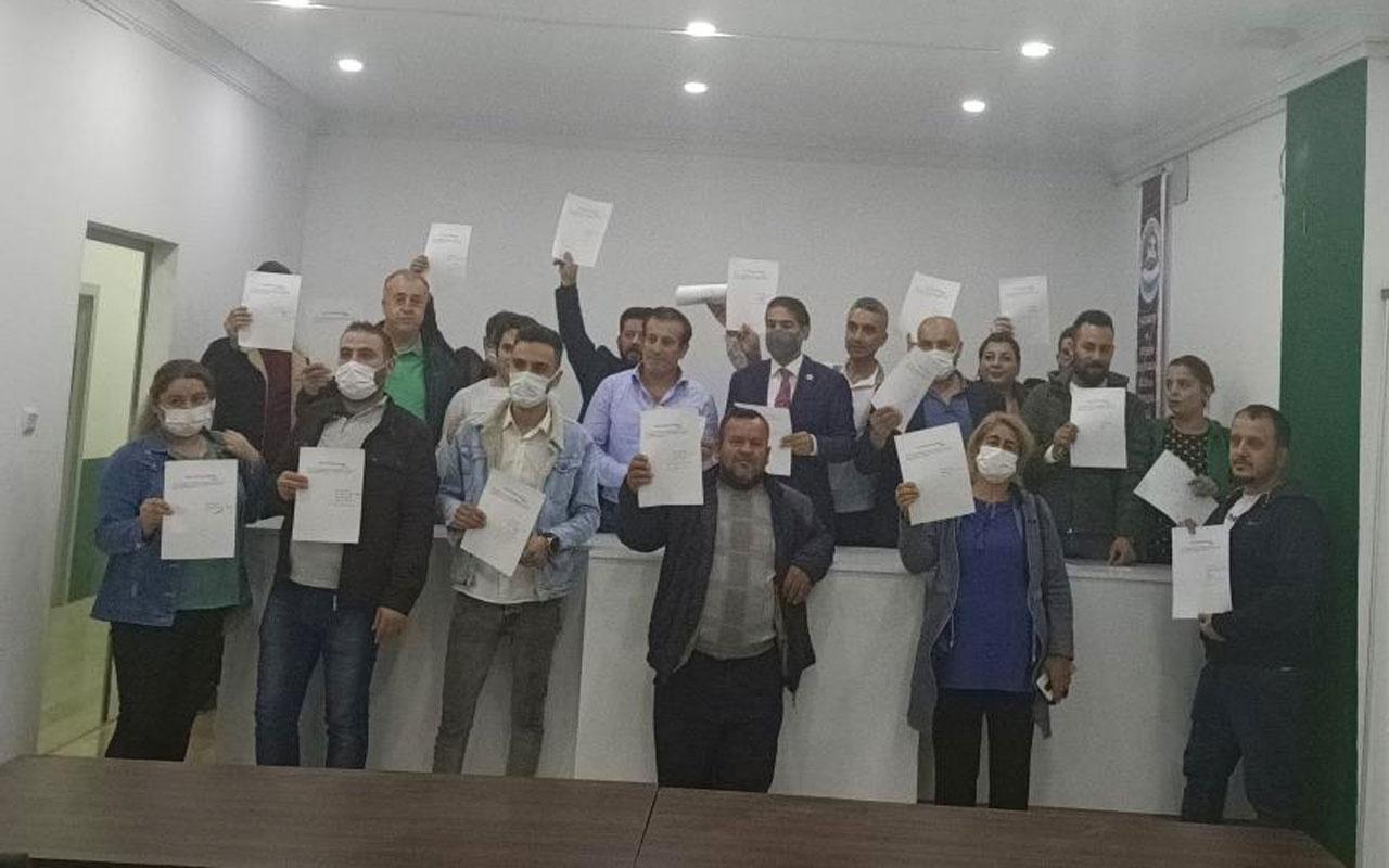 Gelecek Partisi Şahinbey ilce teşkilatında toplu isifa