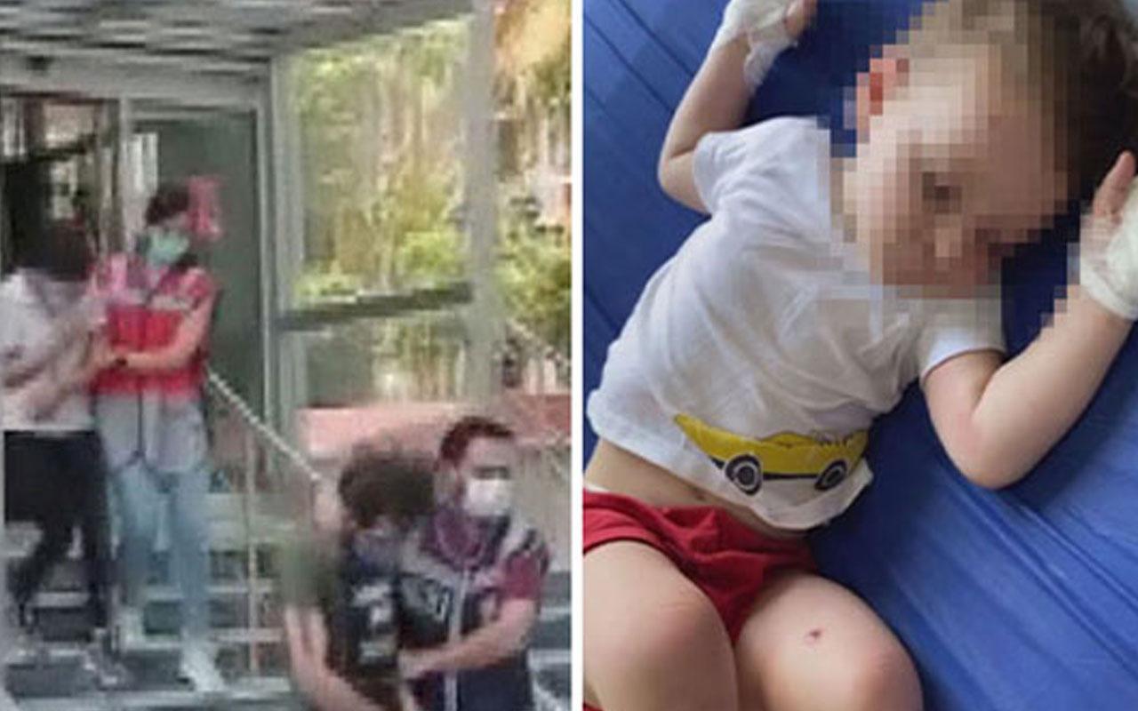 Şişli'de iki yaşındaki çocuğuna eziyet suçundan yargılanıyordu! O baba tahliye edildi