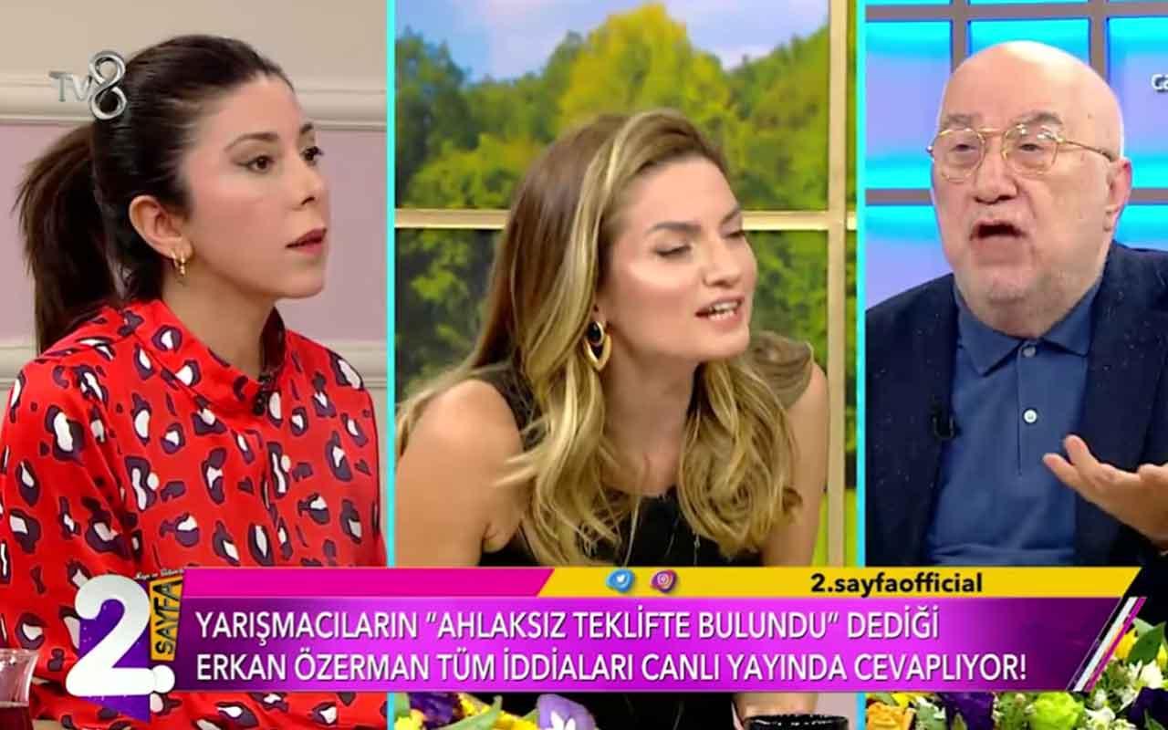 Erkan Özerman'ın 'Kıvanç'ın çıplak fotoğrafını istedin' dediği Müge Dağıstanlı'nın o videosu