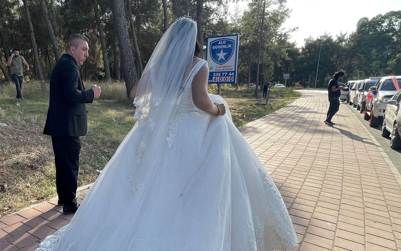 Adana'da düğün öncesi fotoğraf çekimi yaptıran çifte büyük şok! Araçtaki altınları çalındı