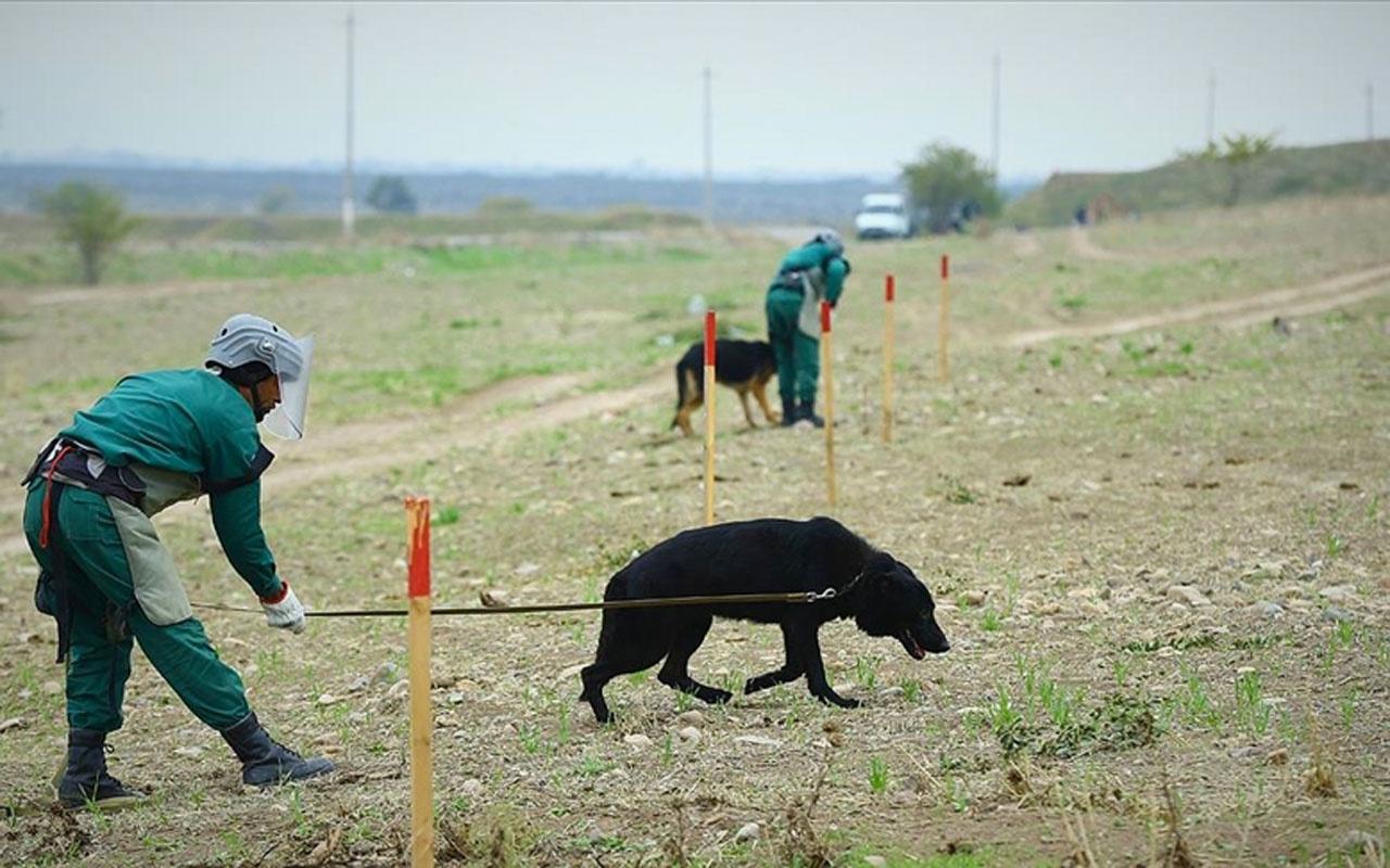 Azerbaycan Ermenistan'ın döşediği 48 binden fazla mayın ve patlamamış mühimmatı imha etti