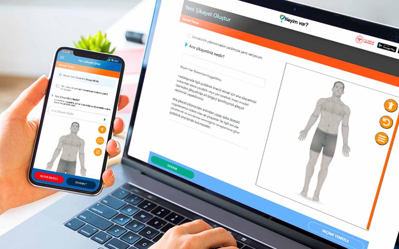 e-Devlet'te yeni hizmet: Neyim Var? Artık Google yerine Sağlık Bakanlığı'nın yapay zekalı doktoruna soracağız!