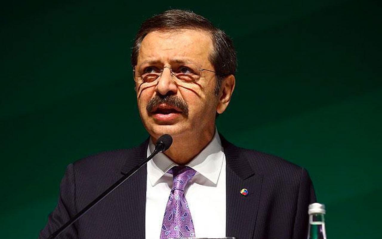 TOBB Başkanı Rifat Hisarcıklıoğlu'ndan faiz indirimi açıklaması