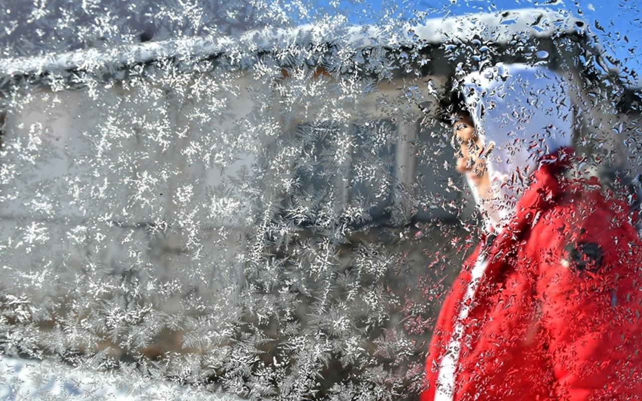 Dondurucu soğuk geliyor! Meteoroloji o gün için uyardı 10 derece düşüyor
