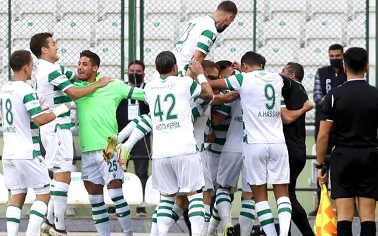 Konyaspor haftalar sonra Kayseri'ye patladı
