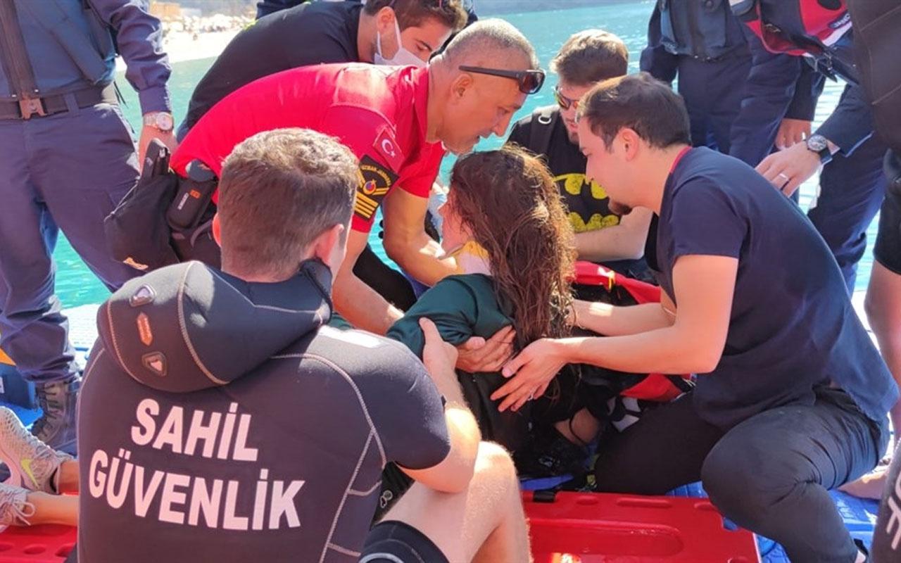 Ukraynalı paraşütçünün ölüm kalım savaşı