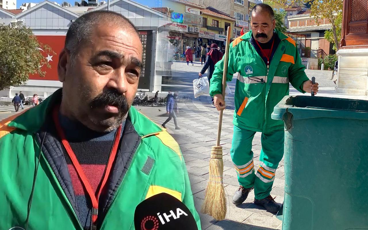 Temizlik işçisi 650 bin TL buldu bakın ne kadar ödül aldı! Denizli'de 'çok üzüldüm' deyip anlattı