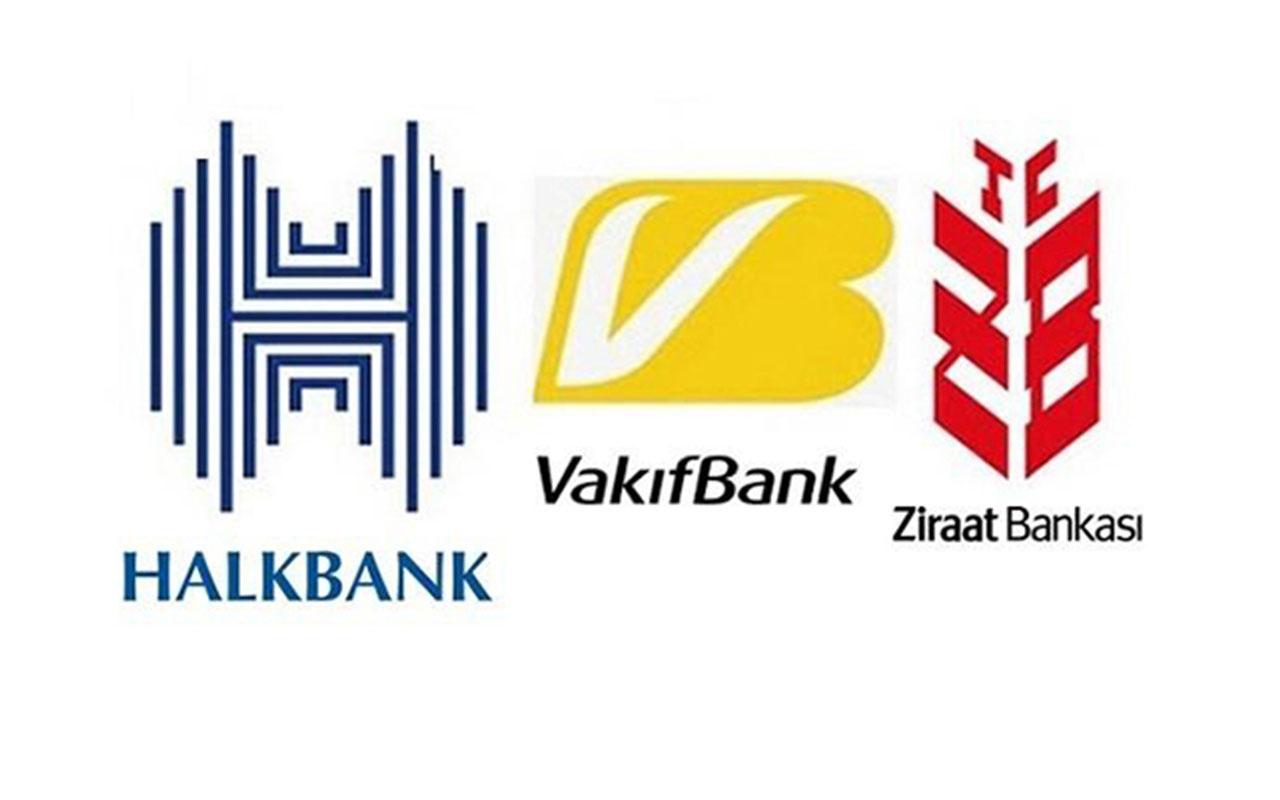 Halk Bankası, Ziraat Bankası ve Vakıfbank'tan faiz indirimi hamlesi! Faiz 200 puan düşürüldü işte yeni oranlar