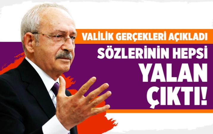 Kars Valiliğinden Kemal Kılıçdaroğlu'nun iddialarına yanıt geldi
