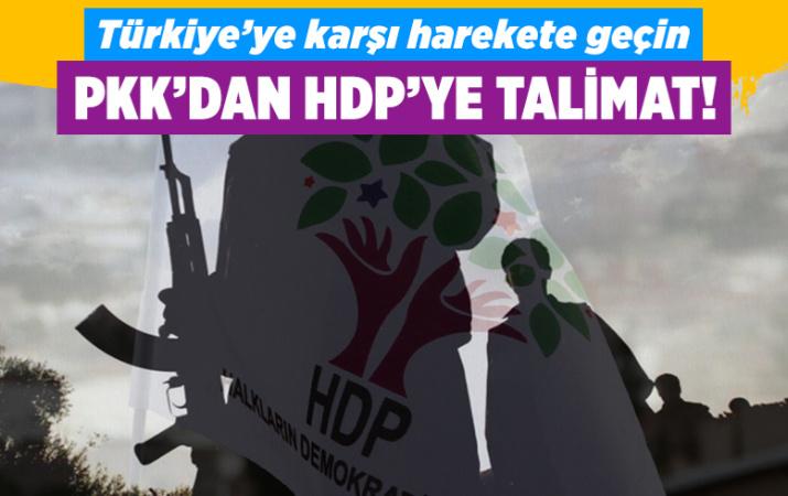 Terör örgütüPKK'dan HDP'ye Ortadoğu talimatı: Türkiye'ye karşı harekete geçin