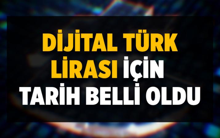 Dijital Türk lirası gelecek yıl hayata geçirilecek