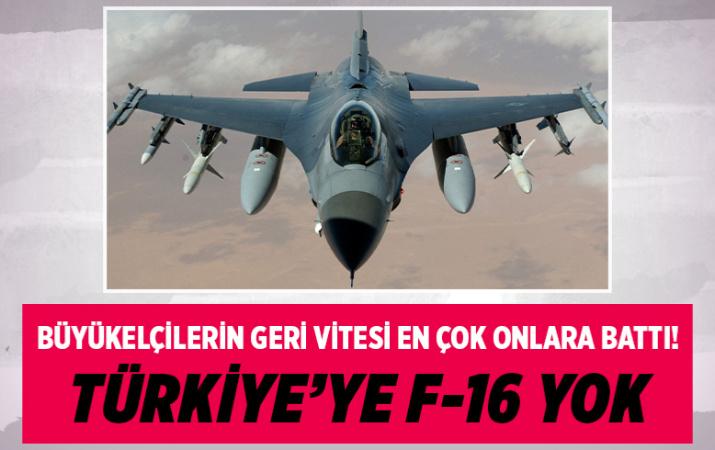 Büyükelçilerin geri adımı Ermeni lobisini kızdırdı: F-16'ları vermeyin