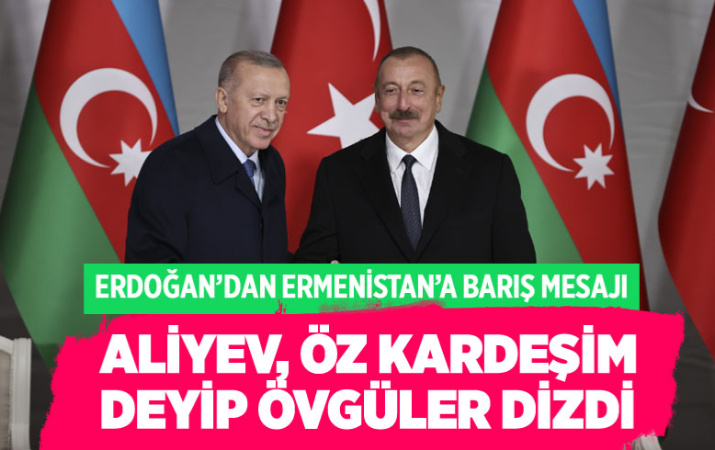 Cumhurbaşkanı Erdoğan, Ermenistan'la normalleşmenin şartını açıkladı