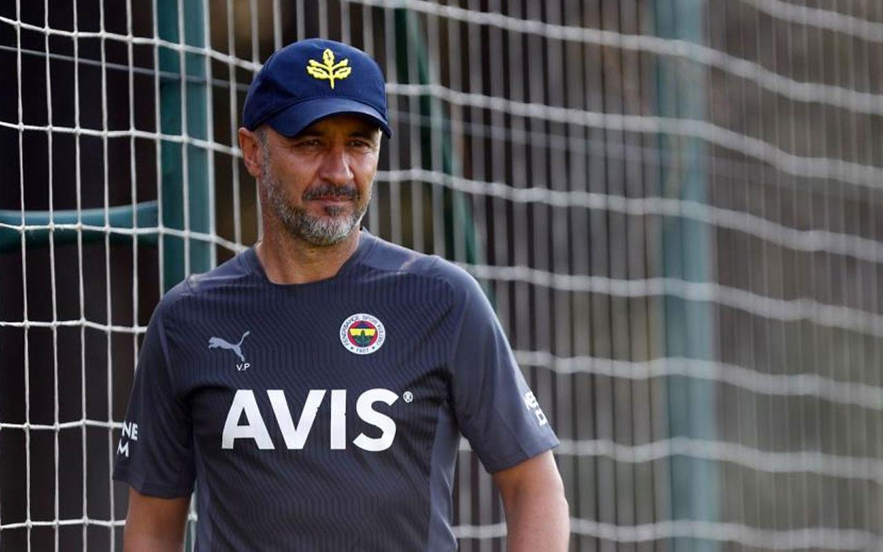 Fenerbahçe Teknik Direktörü Vitor Pereira'dan 'başınızı kaldırın' mesajı