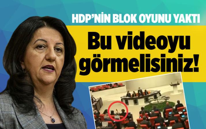 HDP'li Pervin Buldan'ın zor anları! Kameralara yakalandı