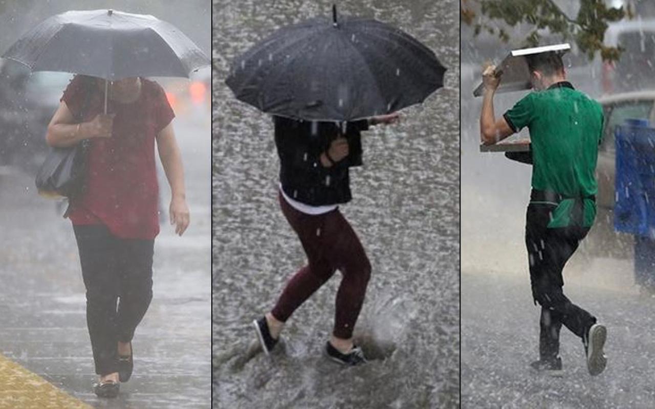 47 ile çok kuvvetli yağış geliyor! Meteoroloji uyardı: İstanbul İzmir Ankara Antalya Eskişehir...